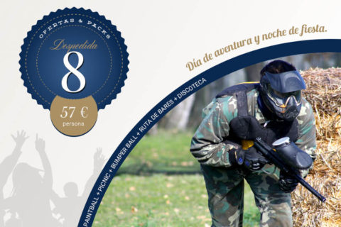 8 – Paintball + Picnic + Bumper Ball