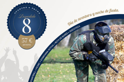 8 – Paintball + Picnic + Gymkhana