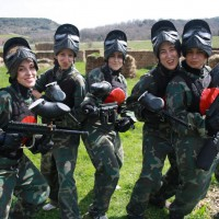 Paintball despedida soltero