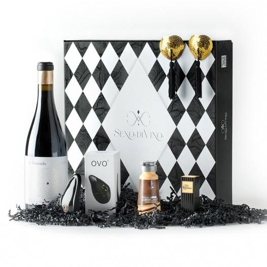 Caja Regalo Sexo + Vino